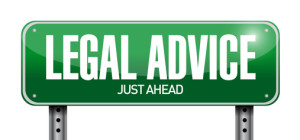 legal advice road sign illustration design over a white background